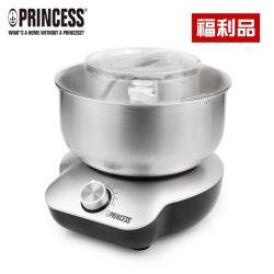 (福利品)PRINCESS荷蘭公主桌上型4L不鏽鋼盆全能攪拌機220129