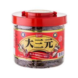【盛香珍】吉祥大三元(焦糖瓜子+南瓜子+開心果) 950g/桶-附提把