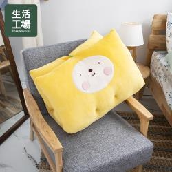 【生活工場】動物果友會-菠菠熊午睡墊