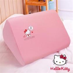 Jenny Silk.Hello Kitty.小花日記.抬腿枕.三角枕.記憶枕.全程臺灣製造
