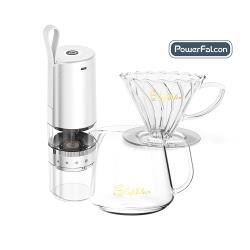 CaféFalcon 精緻手沖咖啡壼三件組(手沖壼+玻璃濾杯+分享壼)