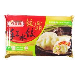 龍鳳餃霸手工水餃-韭菜鮮肉1200g(40粒)