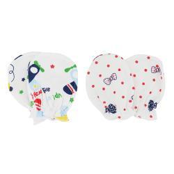 10雙-新生兒手套 純棉嬰兒手套 防抓手套
