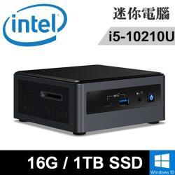 Intel NUC10I5FNH-161TPH(i5-10210U/16G DDR4/1TB PCIE/WIN10)特仕版