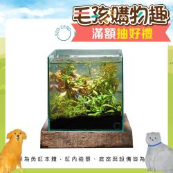 Eco Zero SE+ Cube 透明光科技 水族生態過濾魚缸 (公司貨)