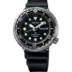 SEIKO 精工 Prospex 1975經典鮪魚罐頭 300米潛水手錶 7C46-0AN0U(S23629J1)