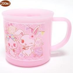 三麗鷗寶石寵物寶石兔水杯漱口杯兒童水杯杯子200ml 261002【卡通小物】