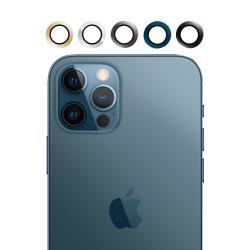 【SHOWHAN】 iPhone12 Pro Max 鋁合金鋼化玻璃金屬鏡頭環 五色