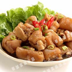 【華誠食品】古早味滷豬腳丁1000g