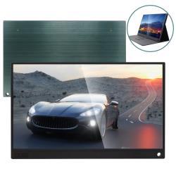 IS愛思 PLAYTV-T PLUS 15.6吋觸控超薄可攜式液晶螢幕 附可立式螢幕支架皮套