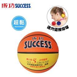 成功 國小專用 深溝少年籃球 S1150(附球網、球針)送穴道按摩球S4707