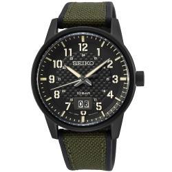 SEIKO 精工 CS系列軍事格紋運動風腕錶/41mm (6N76-00J0SD/SUR325P1)