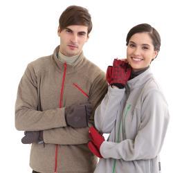 【Vital Salveo 紗比優】VITAL 3WARM 防風保暖兩用止滑半指手套(防風透氣/雙層半指手套/刷毛保暖)