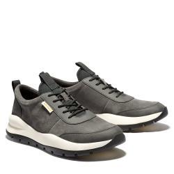 Timberland 男款深灰色絨面革休閒鞋A2CA3C64