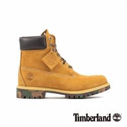Timberland 男款小麥黃色迷彩底保暖6吋靴6717B231