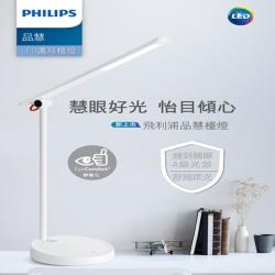 【PHILIPS】飛利浦 LED 7.4W品慧可調光檯燈 66127