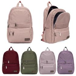J II 後背包-極限水洗雙拉鍊後背包-藕粉色-6566-17