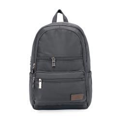 J II 後背包-極限休閒雙拉鍊後背包-深灰色-6366-3