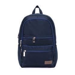 J II 後背包-極限休閒雙拉鍊後背包-深藍色-6366-2