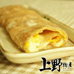 【上野物產】台灣營養素食全麥蛋餅皮 (1800g±10%/30片/包) x1包