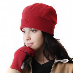 【Vital Salveo 紗比優 】VITAL 3WARM 防風保暖透氣三線圓頂帽(灰色/酒紅)(保暖遮耳帽/護耳帽-台灣製造)