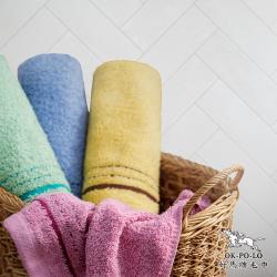 【OKPOLO】台灣製造歐洲色毛巾-12入組