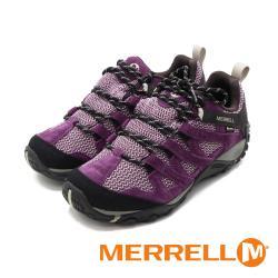 MERRELL (女)ALVERSTONE GORE-TEX郊山健行鞋 女鞋 -黑莓(另有灰藍)