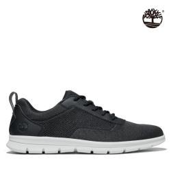 Timberland 男款黑色網狀織布休閒鞋A2QXW015