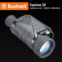 [美國 Bushnell 倍視能] Equinox Z2 新晝夜系列 6x50mm 數位日夜兩用紅外線單眼夜視鏡 260250 (公司貨)
