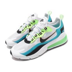 Nike 休閒鞋 Air Max 270 React 男鞋 氣墊 避震 舒適 簡約 球鞋 穿搭 綠 藍 CT1265300 [ACS 跨運動]