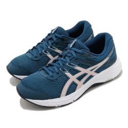 Asics 慢跑鞋 Gel Contend 6 女鞋 亞瑟士 路跑 耐磨 緩衝 入門 亞瑟膠 藍 粉 1012A570401 [ACS 跨運動]