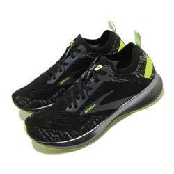 Brooks 慢跑鞋 Levitate 4 Run 女鞋 路跑 緩震 DNA科技 透氣 健身 球鞋 黑 黃 1203351B013 [ACS 跨運動]