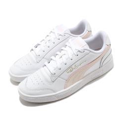 Puma 休閒鞋 Ralph Sampson 女鞋 基本款 皮革 簡約 穿搭 球鞋 白 粉 37084612 [ACS 跨運動]