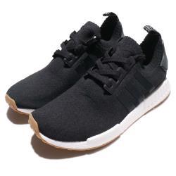 adidas 休閒鞋 NMD R1 PK 情侶鞋 愛迪達 Boost 舒適 流行 黑 白 BY1887 [ACS 跨運動]