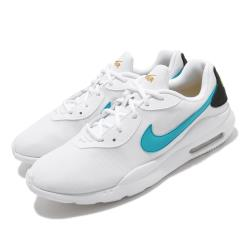 Nike 休閒鞋 Air Max Oketo 運動 男鞋 輕量 透氣 舒適 氣墊 避震 簡約 白 藍 AQ2235106 [ACS 跨運動]