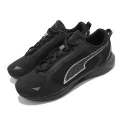 Puma 慢跑鞋 Minima FM 運動 男女鞋 輕量 透氣 舒適 避震 路跑 健身 情侶 黑 銀 19400101 [ACS 跨運動]