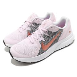 Nike 慢跑鞋 Zoom Span 3 運動 女鞋 氣墊 舒適 避震 路跑 健身 球鞋 粉 黑 CQ9267501 [ACS 跨運動]