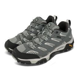 Merrell 戶外鞋 Moab 2 GTX 運動 女鞋 登山 越野 耐磨 黃金大底 防潑水 穩定 綠 米 ML033468 [ACS 跨運動]