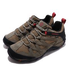 Merrell 戶外鞋 Alverstone GTX 男鞋 登山 越野 耐磨 防潑水 麂皮 透氣 棕 黑 ML033019 [ACS 跨運動]