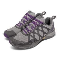 Merrell 戶外鞋 Siren 3 GTX 運動 女鞋 登山 越野 耐磨 支撐 黃金大底 防潑水 灰 紫 ML033896 [ACS 跨運動]