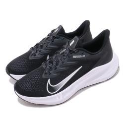 Nike 慢跑鞋 Zoom Winflo 7 運動 女鞋 氣墊 避震 路跑 健身 舒適 球鞋 穿搭 黑 白 CJ0302005 [ACS 跨運動]