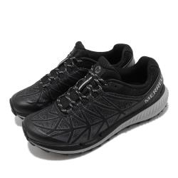 Merrell 慢跑鞋 Agility Synthesis 2 女鞋 緹花網布 彈性 透氣 穩定 膠底 黑 灰 ML135272 [ACS 跨運動]