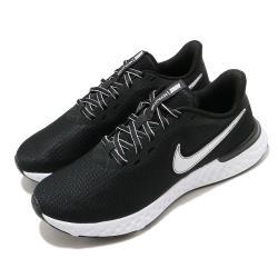 Nike 慢跑鞋 Revolution 5 EXT 運動 女鞋 輕量 透氣 舒適 避震 路跑 健身 黑 白 CZ8590001 [ACS 跨運動]