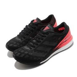 adidas 慢跑鞋 Adizero Boston 9 女鞋 愛迪達 路跑 運動休閒 反光 穿搭 黑 粉 EG4656 [ACS 跨運動]