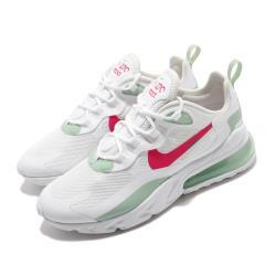 Nike 休閒鞋 Air Max 270 React 女鞋 氣墊 避震 舒適 球鞋 穿搭 簡約 白 紅 CV3025100 [ACS 跨運動]