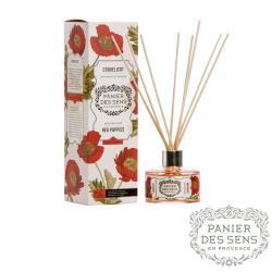 法國 Panier des Sens 櫻紅罌粟 Red Poppies 100ML 天然室內擴香