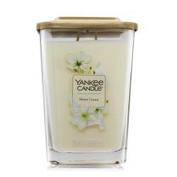 YANKEE CANDLE香氛蠟燭-純粹亞麻Sheer Linen(552g)-方瓶