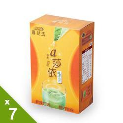 黃馬琍老師 喜兒法 a莎依纖鮮自然7盒(10包入/盒) 茶包式包裝