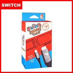 【Brook】 Switch 隨插即用螢幕畫面傳輸線HDMI Cable轉接線附插頭相容快速充電取代底座