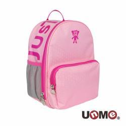 【UnMe】簡約學院幼兒減壓透氣書包 - 粉紅色